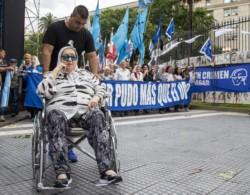 La Asociación Madres de Plaza de Mayo realizó junto a organizaciones sociales y políticas una