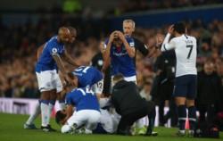 El resultado quedó de lado. Tottenham y Everton empataron 1-1, pero los pensamientos están en André Gomes y su escalofriante lesión.