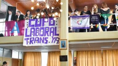 El Concejo a favor pero Maza no. Por esa actitud, el colectivo Travesti Trans Trava emitió un repudio.
