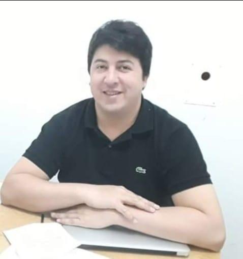 La víctima, Renzo Mercado, un traumatólogo de 35 años.