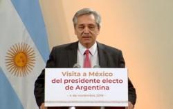 """""""Lo que Argentina vive en materia de dólares es lo que (el presidente Mauricio) Macri produjo en materia de dólares. El 10 de diciembre no es una fecha mágica""""."""