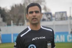 Giménez, profesor de educación física, dirigió a Brown por última vez el pasado 23 de febrero ante Santamarina en Tandil.