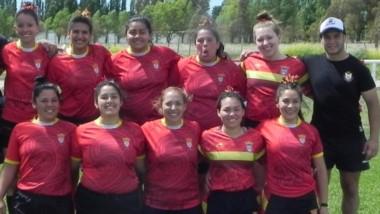 Equipo de La Española, quien ganó todos sus partidos y empató uno, posa junto a sus técnicos para Jornada.
