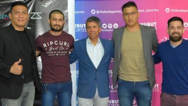 El evento de MMA, que se realizará el sábado, fue presentado en el auditorio de Chubut Deportes en Rawson.