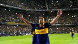 """Riquelme: """"Yo amo a mi club, soy bostero y los culpables son los hinchas, que han hecho que quiera aún más a Boca""""."""