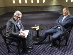"""Alberto Fernández estuvo en el programa """"Conversando con Correa"""", que conduce el ex presidente ecuatoriano para Rusia Today."""