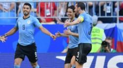 Luis Suárez, Cavani y Godín, con Uruguay para enfrentar a Hungría y Argentina.