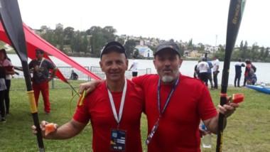 Carlos Escobar y Néstor Hugues obtuvieron el 4to puesto en K2.