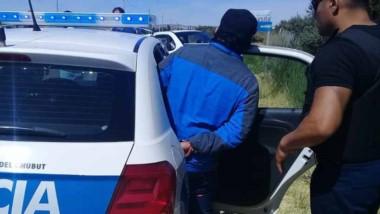 El individuo fue demorado ayer en un control callejero de rutina.