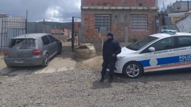 El vehículo VW Gol tenía un pedido de secuestro desde el 22 de agosto.
