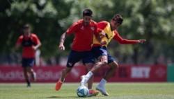 El plantel del club de Avellaneda amenazaron con hacer huelga y no entrenar.