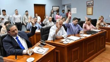 Durante la sesión del día de ayer también se sancionó por el lapso de un año la Emergencia Sanitaria.