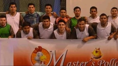 """El conjunto campeón de la divisional """"B"""", luego de derrotar por 5 a 2 a Defensores de Gaiman Nuevo."""