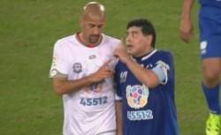 Maradona disparó contra Verón y la 'Brujita' respondió.