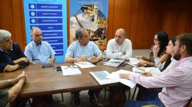 Encuentro. Los referentes de la Cámara local obtuvieron datos de las bancadas opositoras en Trelew.