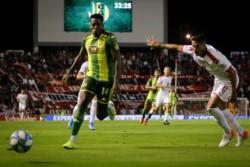 Independiente enfrenta a Aldosiv y aspira a meterse en la pelea por el campeonato.