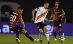 """""""Nacho"""" Fernández anotó el primer gol en la remontada ante Newell"""