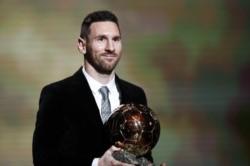 Messi nombrado jugador del año por el diario británico The Guardian.