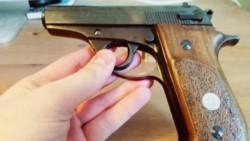 Pistola Bersa calibre 3.80
