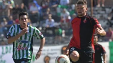 Gaiman FC venció por 2-1 a Germinal en la primera final del Clausura 2019, jugada en la Villa Deportiva.