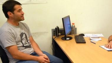Matías Ghersi estuvo en las oficinas de Chubut Deportes, donde trasladó las necesidades deportivas que tienen en la localidad de Lago Puelo.