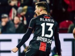 Lucas Alario y un gol en el último minuto para darle la victoria al Bayer Leverkusen.