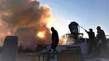 La División Canes de Trelew sofocó un incendio en una casa ubicada en Cabildo al 500 del barrio Tiro Federal .