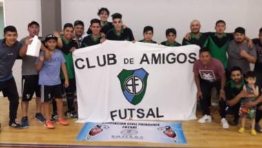 El equipo Club de Amigos, se consagró campeón en la división Honor, la máxima categoría del Patagonia.