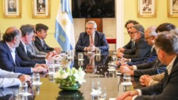 Alberto Fernández se reunió con la mesa de enlace del campo en Casa Rosada.