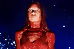Sissy Spacek en la versión de 1976, dirigida por Brian de Palma.