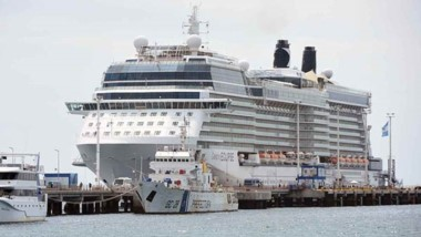 Se trata del buque de placer más imponente de la temporada que estará visitando la ciudad del Golfo.