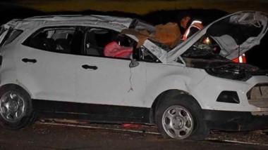 El terrible accidente ocurrió cuando el exfuncionario iba desde Caleta Olivia hacia Comodoro Rivadavia.