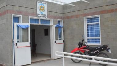 Insólito. La Subcomisaría del barrio Guayra fue asaltada el sábado.