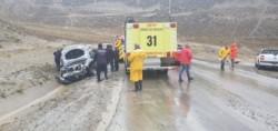 El accidente involucró a dos vehículos (foto @marcelovidalcr)