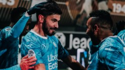 Con Darío Benedetto (jugó 63 minutos), el Olympique derrotó 2-0 al Angers como visitante por la fecha 16.