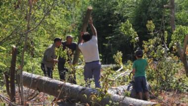 El sueño de la casa propia comenzó ayer para más de 100  familias de Lago Puelo.