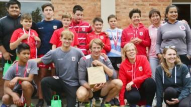 Gran convocatoria de público se vivió el pasado fin de semana en las instalaciones del club Draig Goch Rugby club. Se procedió a la entrega de certificados y  reconociemintos .