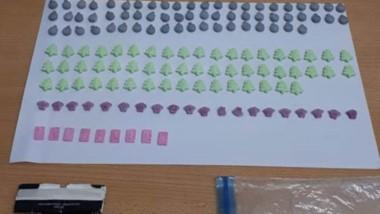 Las pastillas de éxtasis fueron secuestradas por la Gendarmería.