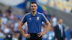 """Scaloni, con serias pretensiones: """"Argentina necesita el título, no solamente Messi""""."""