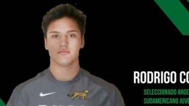 El joven Rodrigo Correa, jugador de Deportivo Portugués de Comodoro Rivadavia, debutará en Los Pumitas.
