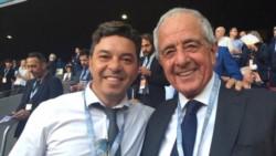 D'Onofrio aseguró que Gallardo cumplirá su contrato en River.