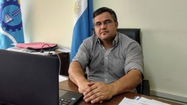 José Luis Pérez, Director de Pesca Continental del Chubut.