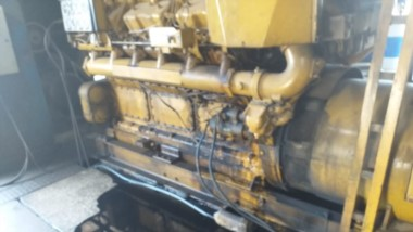 Hace poca semanas el motor de la Cooperativa de Tecka se había parado por falta de aceite.