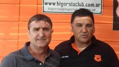 Juan Carlos Graña y Daniel Duhalde, los candidatos que se presentaron.
