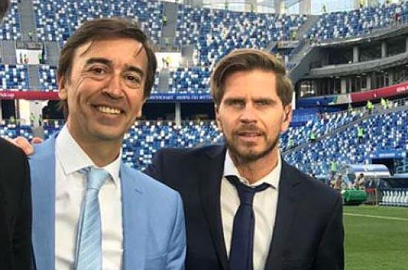 La supuesta amante de Diego Latorre vinculó a sus compañeros de Fox Sports, Marcelo Benedetto y Sebastián Vignolo en el escándalo.