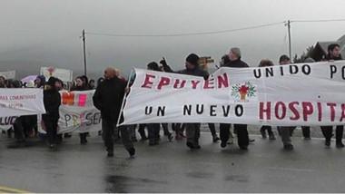 Un año después. La población de Epuyén otra vez movilizada por su hospital.