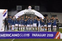 A pesar de completar un excelente torneo, la Selección Argentina no pudo repetir el título en el Sudamericano.