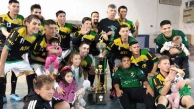ATF se consagro campeón luego de una gran victoria frente a Roy  Centeno, quienes defendían el título.
