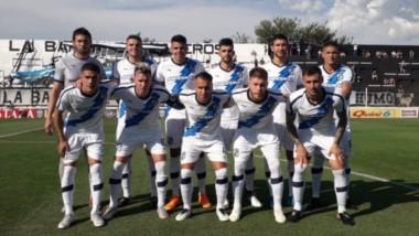 La formación de Brown en Caseros en el último partido del año. (Foto: Prensa Guillermo Brown).