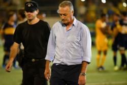 Renunció Alfaro en Boca: